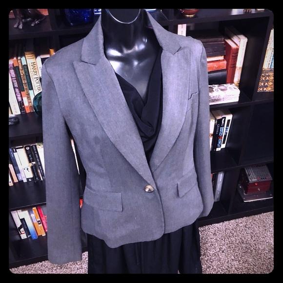 Isaac Mizrahi for Target Jackets & Blazers - Issac Mizrahi for Target Grey One Button Blazer